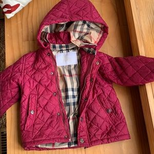 Gorgeous quilted guilted girls jacket